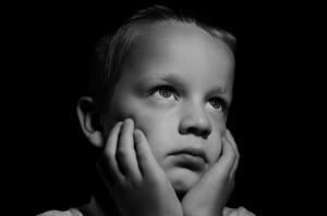 enfant tristesse attente